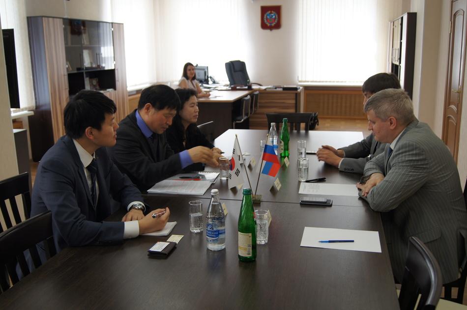 Делегация из Республики Корея провела работу в Алтайском крае