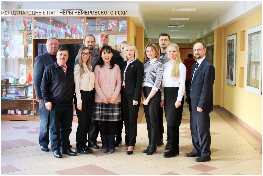 В Кемеровском ГСХИ прошла деловая встреча г-жи Пак Ын Хи с представителями агропромышленного кластера Кемеровской области
