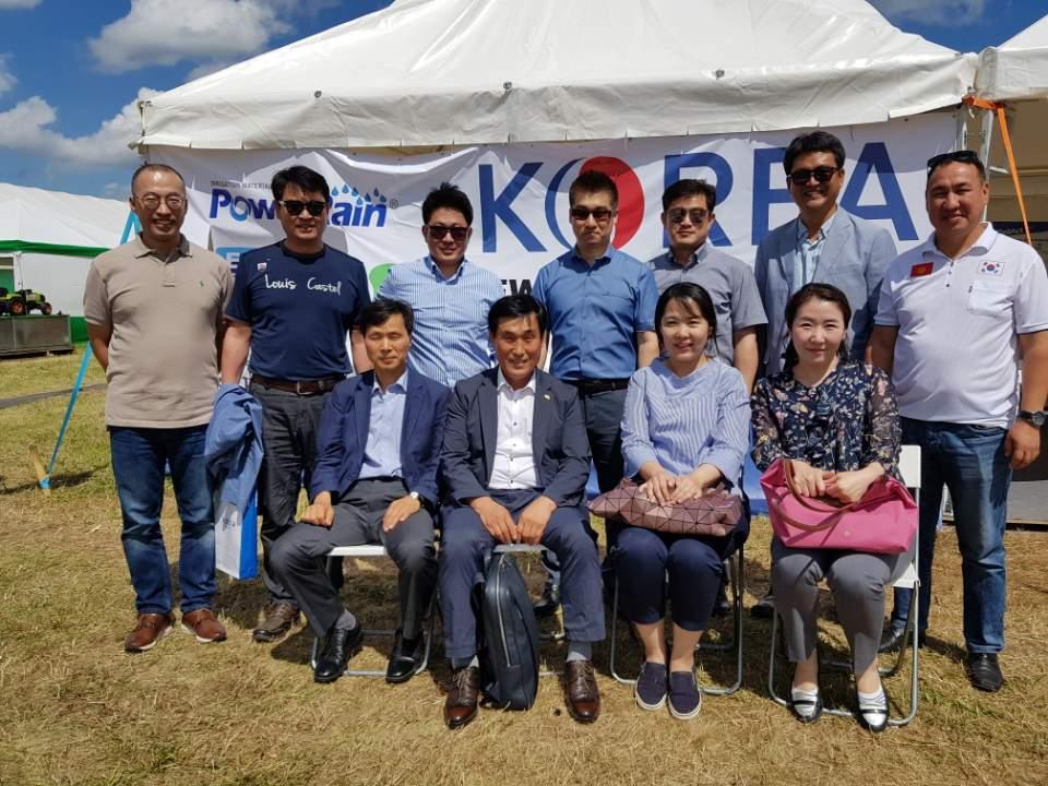Корейские аграрные технологии на Алтае