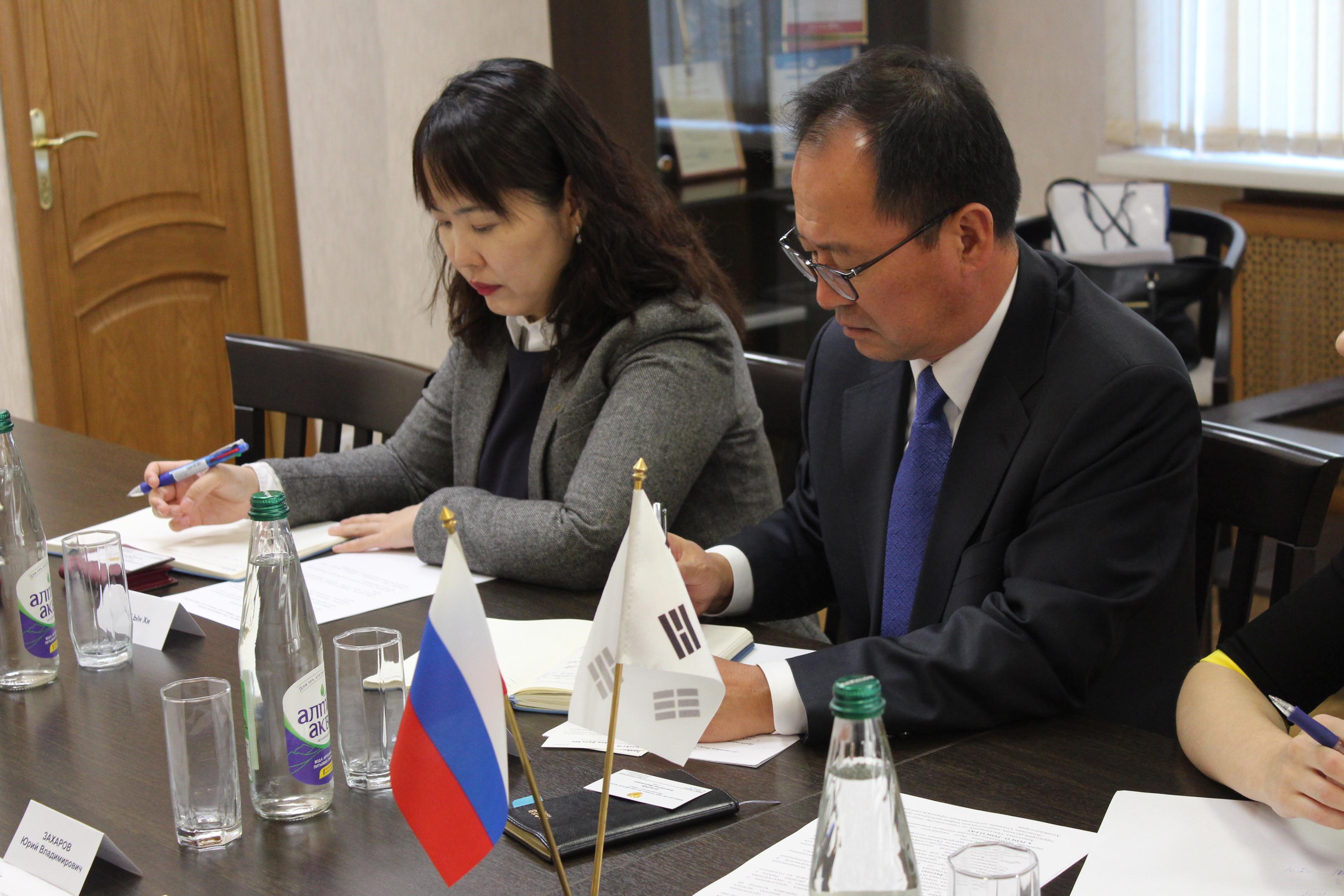 Генеральный директор KOTRA посетил Алтайский край