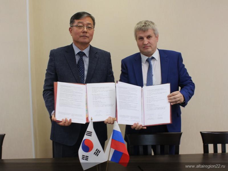 Делегация Республики Корея принимает участие в агрофоруме «День сибирского поля – 2019»